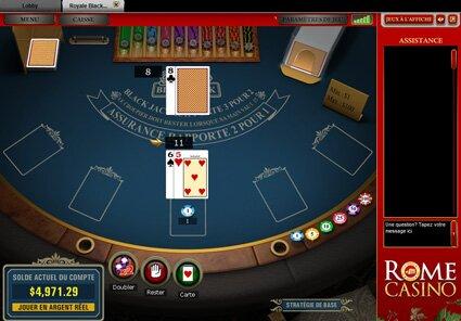 rome casino